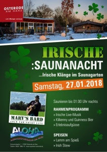 Irische Saunanacht